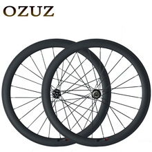 Free Customs Fee 700C OZUZ 38mm 50mm Clincher Carbon Wheels 3K Matte Road Bike Bicycle Disc Brake Wheelset Ship From Germany