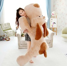 59'' / 150cm Giant Plush Cute Soft Stuffed Large Animal Dog Toy, Nice Birthday Gift For Kids, Free Shipping(China)