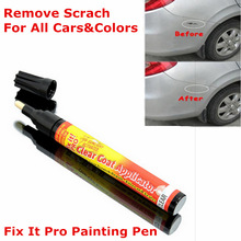 Magic Fix It Pro Painting Pen Car Scratch Remover Repair Pen Simoniz Clear Coat Applicator For Any Car Any Color Free Shipping