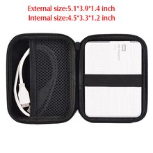 "2.5"" 2.5 Inch External Hard Drive Case Protection Bag for 2.5 Inch HDD waterproof"
