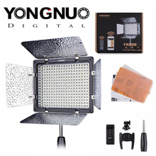 Yongnuo YN-300 LED Illumination Dimming Video Light Lamp SLR Camera DV Camcorder for Canon Nikon Video Light + Remote Control(China)