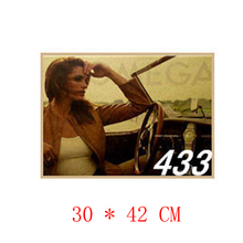 NO.433,Famous brand/Watch brand/Advertisement poster/kraft paper/Wall stickers/Retro Bar Poster/decorative painting30x42cm