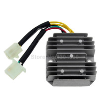 New GY6 50 150cc 152QMI 157QMJ Scooter Voltage Regulator Rectifier 6 Wires Chinese Moped SUNL JCL Dirt Bike CH125