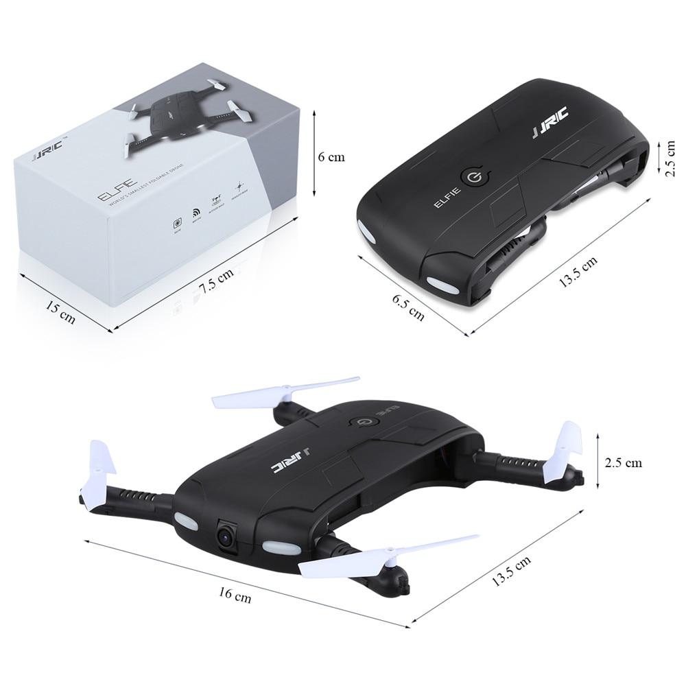 JJRC H37 ELFIE Foldable Pocket Selfie Drone WiFi FPV Phone Control Quadcopter Altitude Hold G-Sensor Mode 720P HD Selfie Drone 06