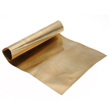 1pc Brass Metal Thin Sheet Foil Plate Shim 0.2mmx200mmx300mm Mayitr For Metalworking(China)