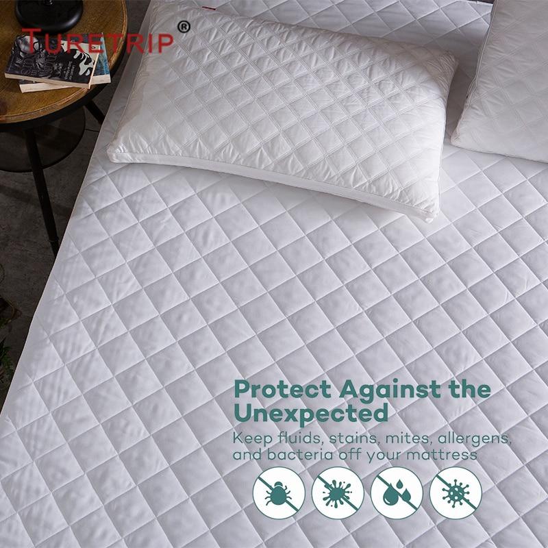 waterproof,Diamond Quilt Mattress cover (7)