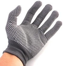 2016 High Quality New Hairdressing Heat Proof Resistant Protective Glove for Hair Curler Straighteners Free Shipping(China)