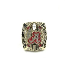 Drop Shipping New Arrival  REPLICA NCAA 2015 Alabama Crimson Tide Football National Championship Ring SIZE 11