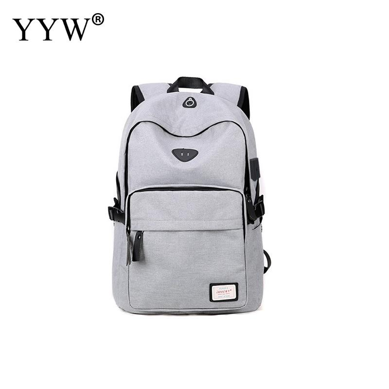 YYW Casual Load Reduction Men Backpack Chinese Style Large Capacity USB Back Bags Black Grey School Bag Mochila Masculina <br>