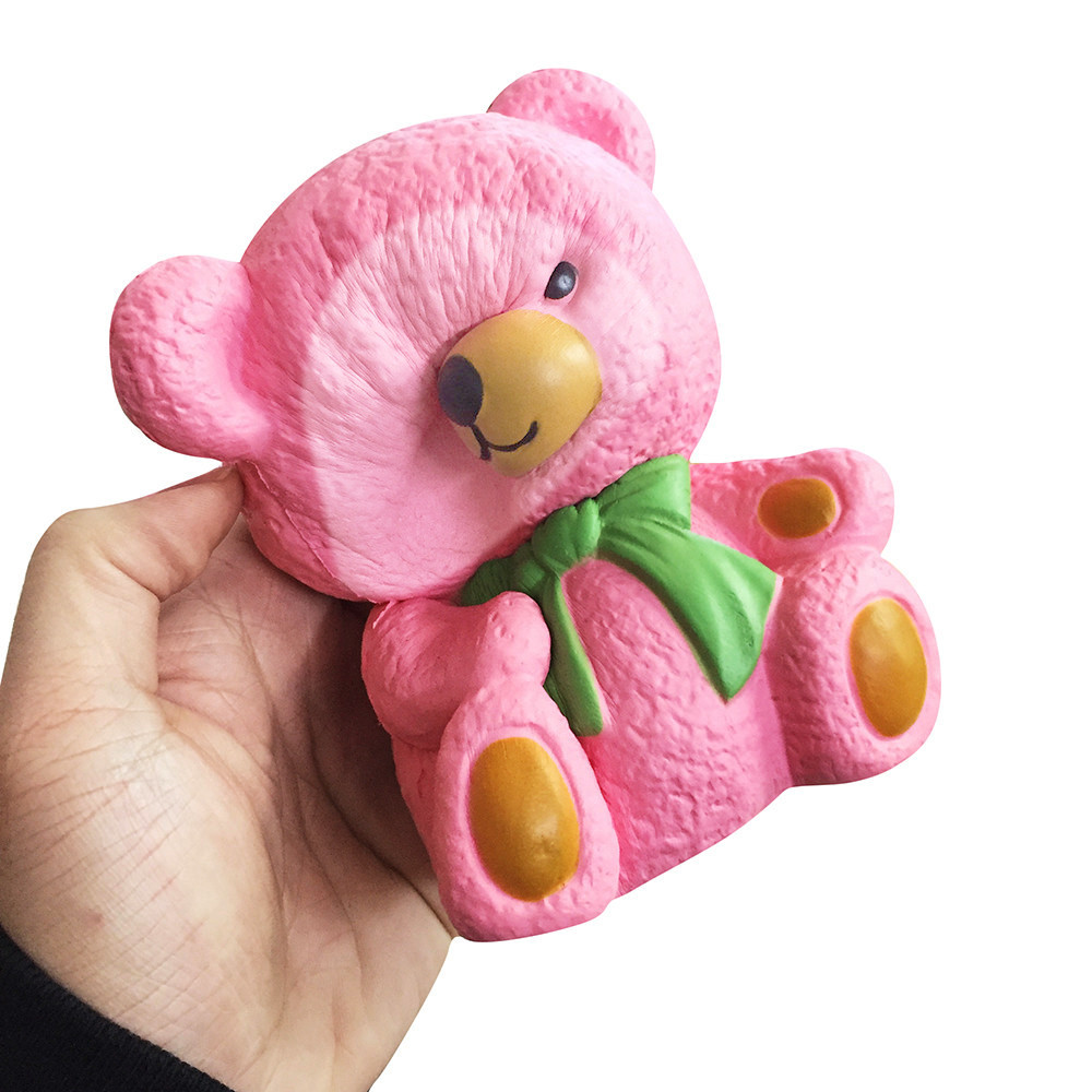 Color Change Super Soft Bear Squishy 5