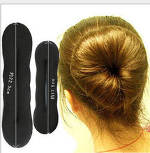 free shipping hair disk Magic Hair Bun Sponge Maker Small and Big size  are available