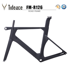 Buy 2018 one-piece carbon fiber racing monocoques road frame C brake road bike frameset carbon fiber bicycle frame 50/52/54/56cm for $599.00 in AliExpress store