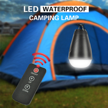 BORUIT 150LM 12 LED Remote Control Operation Lantern 3mode Outdoor Portable Torch Resistant Tent Light Camping Rechargeable Lamp(China)