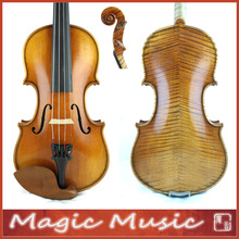 "Master Level! Antonio Stradivarius 1714 ""Soil"" Copy 1/4 Violin #1684, European Spruce & handmade oil varnish"