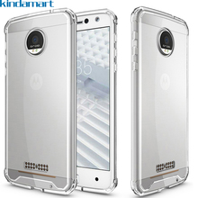 for Moto Z Force case drop protection cushion bumper scratch resistant hard back clear case for Motorola Moto Z Force Droid case