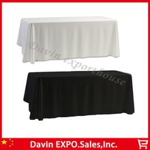 2 Colors nappe de table 145 cm x145cm Satin Tablecloth Table cloth White & Black for Banquet Wedding Festival Decoration