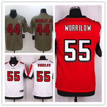 Mens Paul Worrilow Jersey 2017 Rush Salute to Service High Quality Football Jerseys(China)