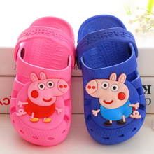 Buy 2018 New Cartoon Baby Beach Slipper Children Sandals Wholeas EVA Anti-slip Girls Boys Slippers Summer Garden Shoes Child Slipper for $6.23 in AliExpress store
