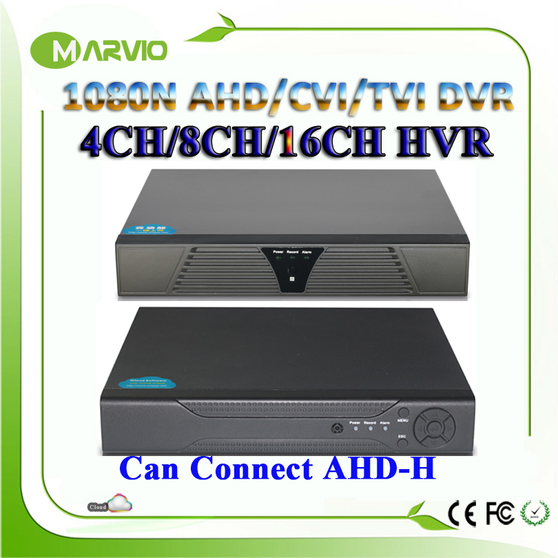 4ch 8ch 16ch 1080N HD AHD-NH/AHD-M TVI AHD CVI DVR TVR CVR AVR CCTV Camera Recorder Can Connect to AHD-H 1080P HDMI Output<br><br>Aliexpress