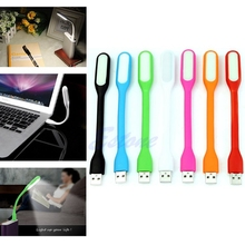 Computer Keyboard Study Reading Notebook Laptop PC Flexible USB LED Light Lamp USB Gadgets Wholesale DN001