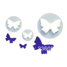 Butterfly Cutter Craft Sugarcraft Rose Petal # 2049(China)