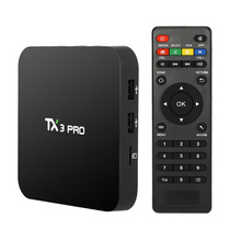 TX3 PRO Android 6.0 Amlogic S905X TV Box Quad-core 64bit 4K 1G/8G Mini PC Media Player Miracast Wireless Keyboard Mouse Touchpad(China)