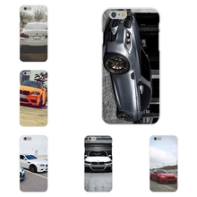 Soft TPU Silicon Fashion Cover Case bmw m series m3 m5 For Apple iPhone 4 4S 5 5C SE 6 6S 7 7S Plus 4.7 5.5