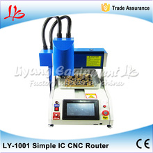 Automatic iphone ic removal cnc router, chip remove cnc machine for mobile repair , Russia free tax