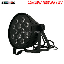Aluminum Alloy LED Par 12x18W RGBWA+UV 6in1 LED Par Can Par led spotlight dj projector wash lighting stage lighting,SHEHDS