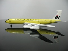 1:500 Braniff International Airlines 707-320T5 Aircraft Model N7096 Airplane Boys Toys(China)