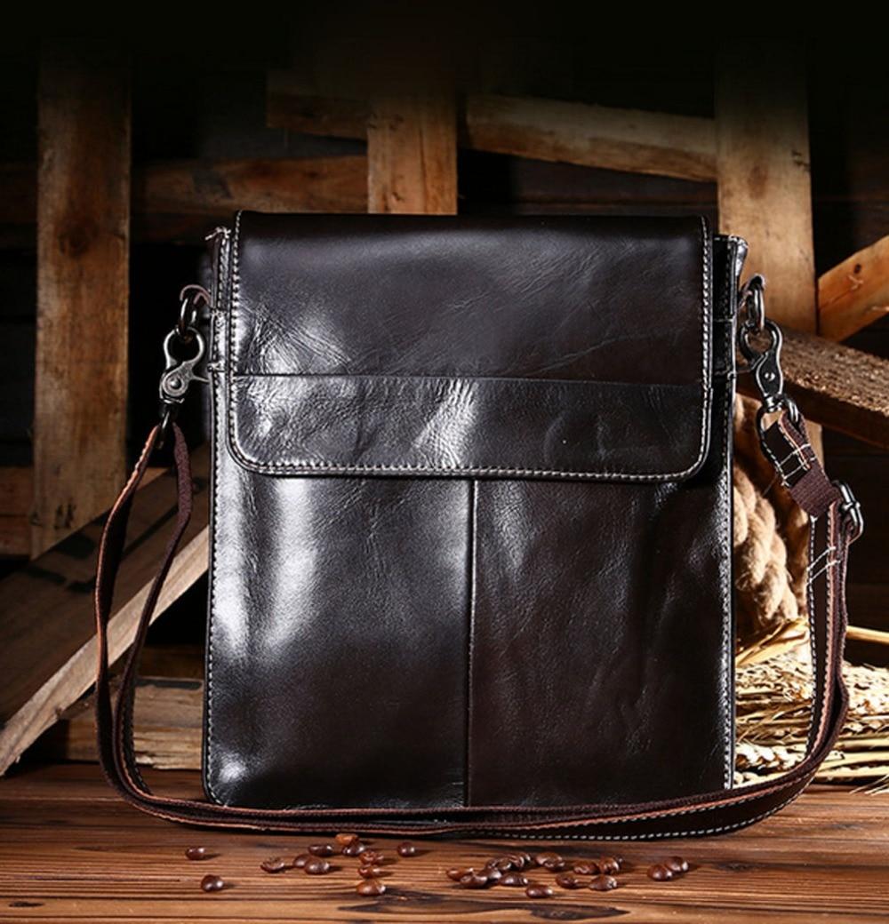 2017 New Men fashion Genuine Leather Business Bags Messenger Shoulder Bag Briefcase Leisure package Handbags<br>