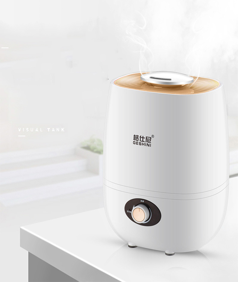 LK316 New Mini Aroma Diffuser 2.5L 20W Negative Ions Air Humidifier 360 degree Rotating Outlet Mist Maker Anti-Dry Protection<br>