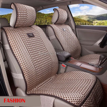 Best Ice silk universal 5 seats handmade autumn car seat cushion /seat covers /car seat supports 6PCS/set cover car accessories(China)