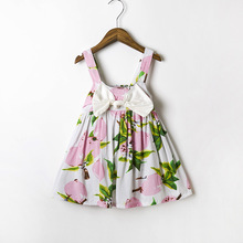 fashion toddler dress 2016 new arrivals lovely 3 / 6 month baby girl dresses with bow