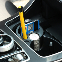 Car Storage Box Organizer Holder Cups Plastic Universal Seat Pockets Coin Cards Slot Container Stowing Tidying Auto Accessories(China)
