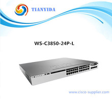 Catalyst 3850 24 Port Switches POE Gigabit Switch WS-C3850-24P-L(China)