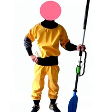fishing Go boat kayak waterproof breathable jacket Dry canoe top sailing rousers whitewater kayaking task canoeing boating CE(China)