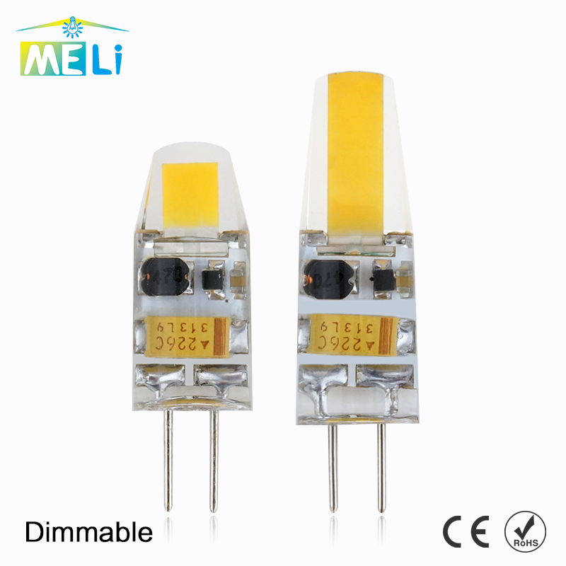 Mini G4 LED Lamp COB LED Bulb 3W 6W DC/AC 12V LED G4 COB Light Dimmable 360 Beam Angle Chandelier Light Replace Halogen G4 Lamps(China)
