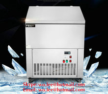DHL ship High quality 220v commercial stainless steel colorful ice brick making machine 6 box cylinder ice block making machine
