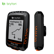 Bryton Rider330 GPS Enabled Waterproof wireless cycling bike mount speedometer with bicycle garmin edge 200 500510 800810 mount