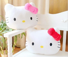 High Quality Lovely Hello Kitty Juguetes Pillow Soft Hand Warmer Warm Stuffed Plush Hello Kitty Cushion 2 color plush toys