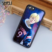 Чехол для телефона SHELI jimin Bangtan для мальчиков, чехол для iPhone 6 6 S 7 8 Plus X 5s SE samsung Galaxy note 8 S5 S6 S7 S8 edge Plus shell(Китай)