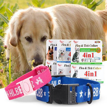 Kill Flea Tick Large/Small Dog Collar Adjustable Big Pet Cat Collar Environmental Prevent Bug Mosquitoes Carrapato Strap For Pet