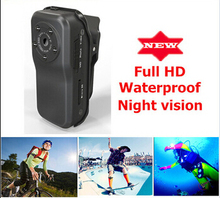 Best Mini DV MD80 camera Sport Video Camera for Sport +Bracket+ Mini DVR Camera Full HD 1080P waterproof night vision(Hong Kong)