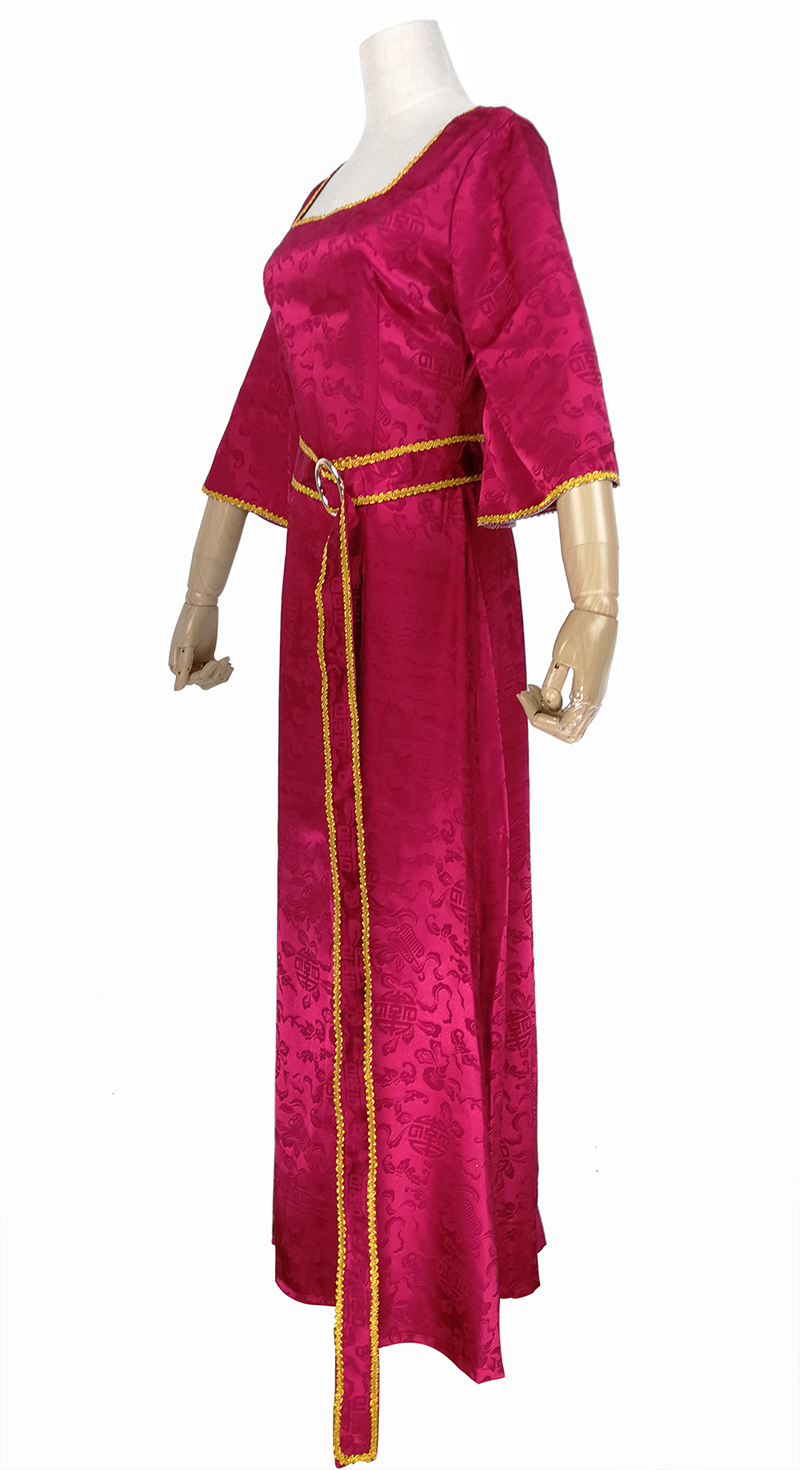 HALLOWEEN//Medieval//Evil TANGLED MOTHER GOTHEL DRESS /& WIG All Ladies Sizes