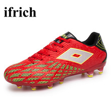Men Soccer Shoes Blue Football Turf Shoes Cheap Football Trainers Mens 2017 Turf Soccer Shoes New Football Cleats For Youth