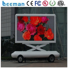 Leemanled P16 Mobile advertising hd xxx hot video P5mm trailer/vehicle/car/truck mobile outdoor full