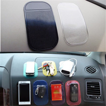 4Pcs Car Styling Non-slip Mat Sticky Silica Gel Magic Anti-slip Pad Wall Sticker Dashboard Mobile Phone Holder GPS Tablet Mount