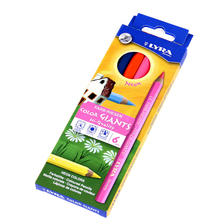 6 Colors/Set Drawing Paint Colored Pencil Fluorescent and Metal Colors Hexagonal Handle Art Set Pen School Supplies Stationery