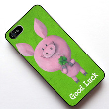 "Good Luck Pig Case Cover, Case , for Apple Iphone 5 5S / 4 4s / 5C/ 6(4.7"") / 6plus(5.5"")"